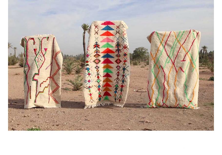 Prochain pop-up store de tapis berbères du vend 10 au dim 12 mai